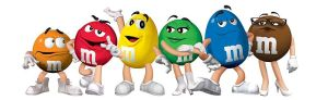 M&Ms characters