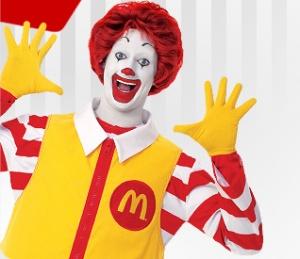 Current Ronald McDonald